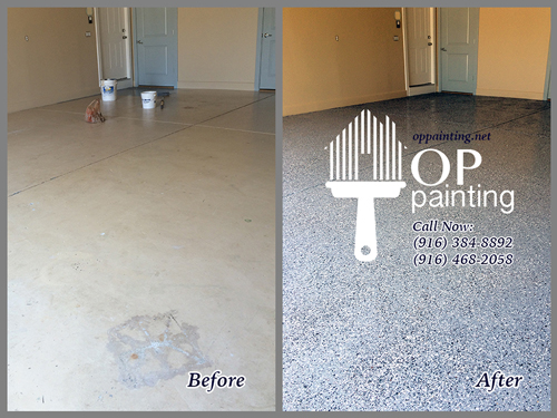 OP Painting Epoxy Coated Concrete Floors